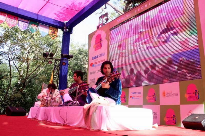 Jaipur Literature Festival music performance