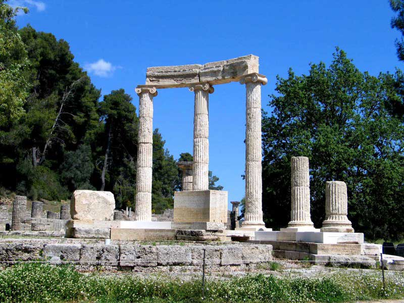 Olympia a sanctuary of ancient Greece in Elis
