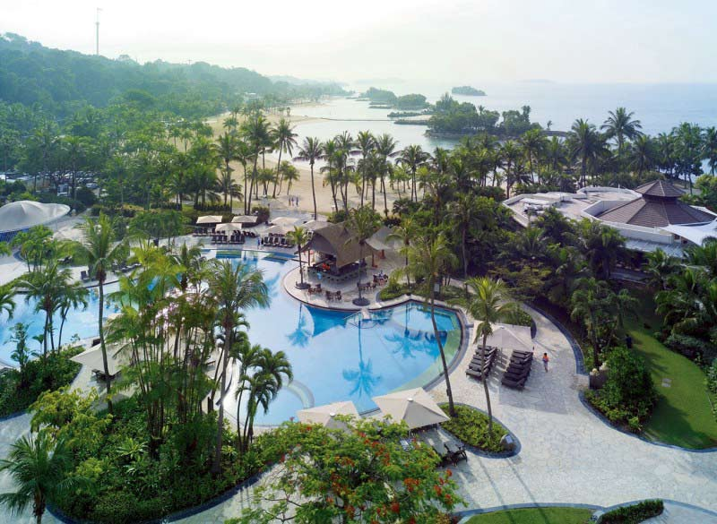 Shangri- la Sentosa Resort & Spa