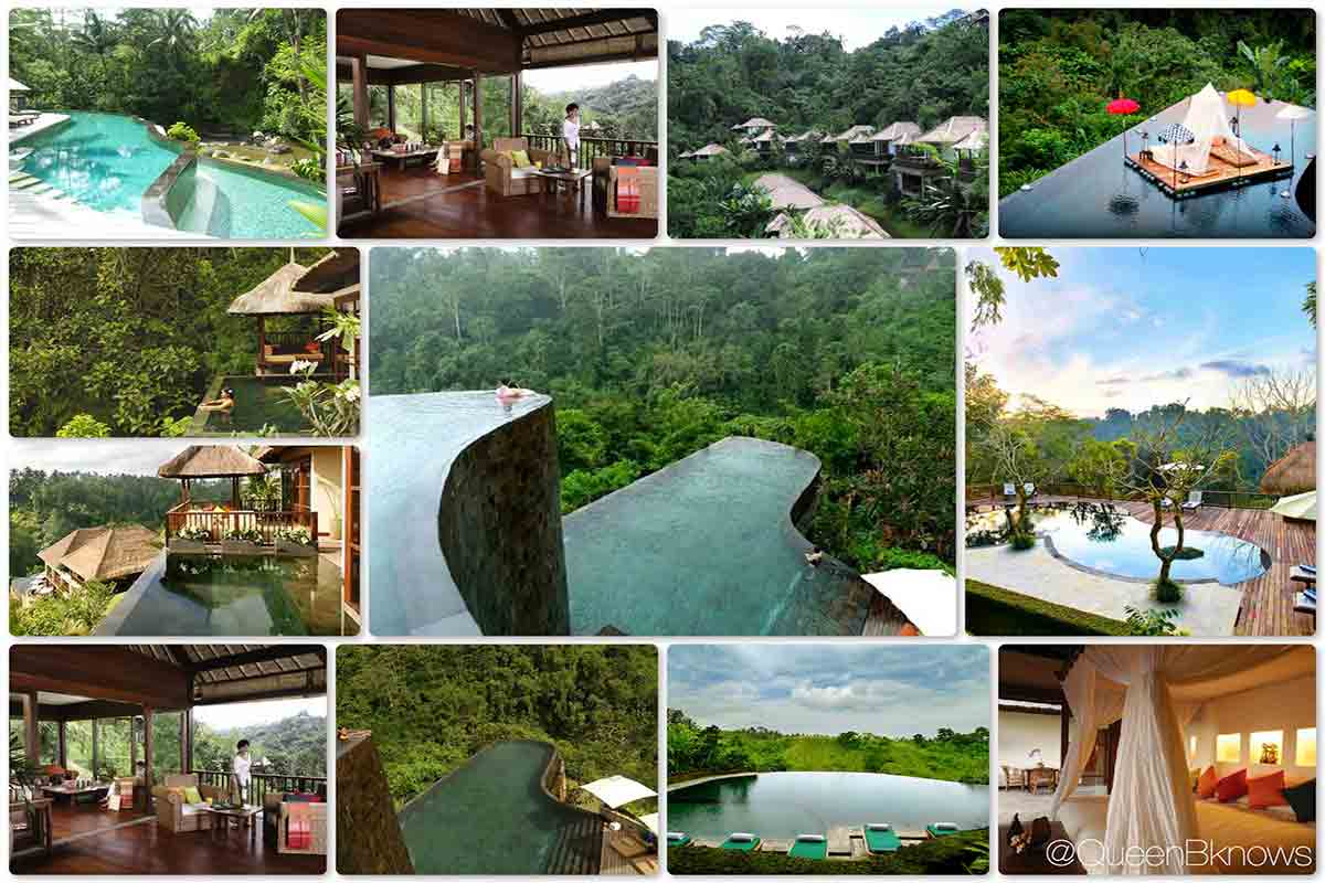 Hotel Ubud Hanging Gardens in Indonesia