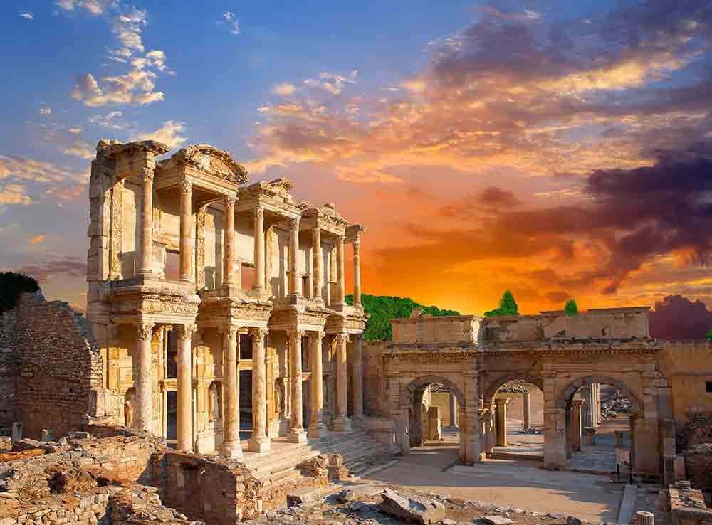 Library of Celsus Turkey