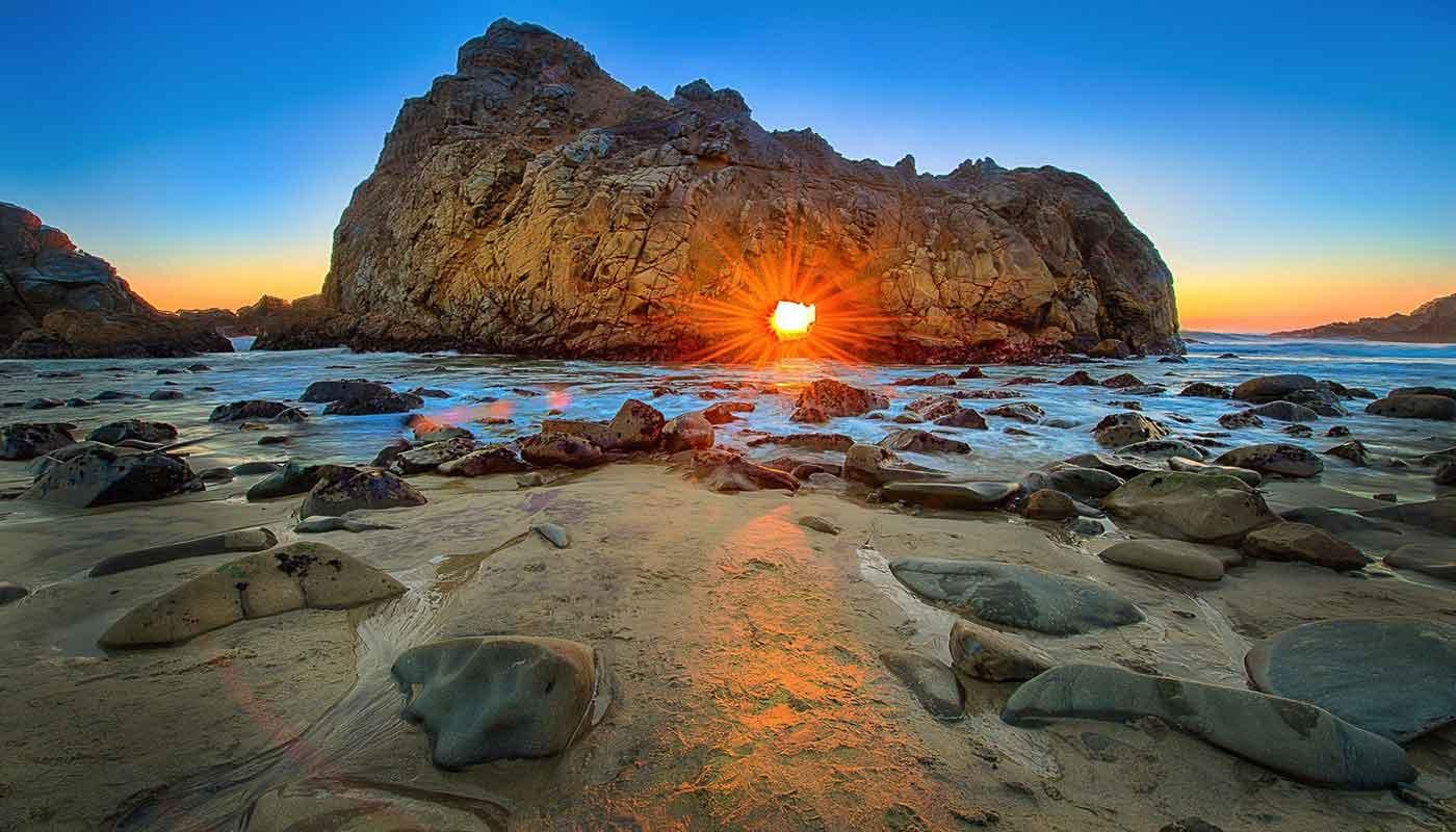 Pfeiffer Beach USA