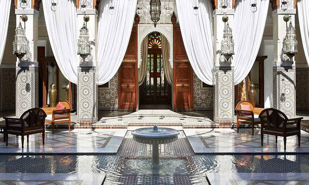 The Royal Mansour in Marrakesh