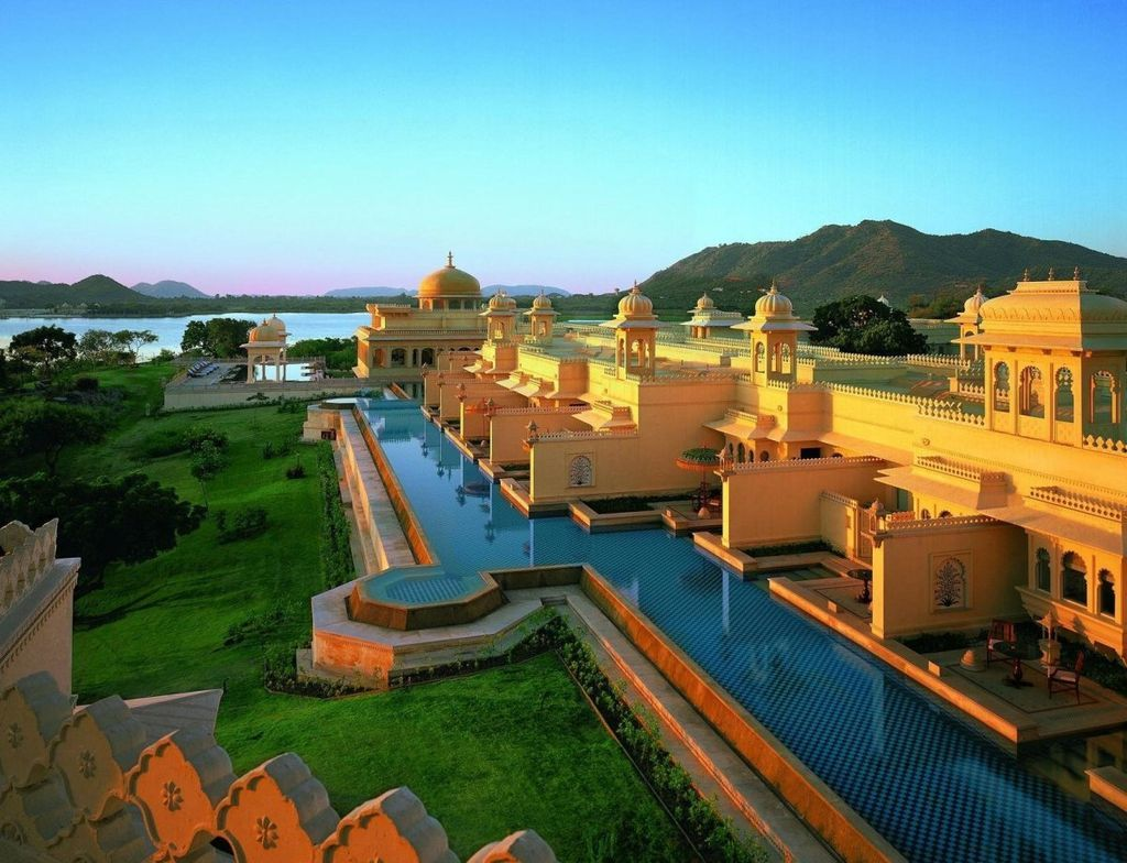 the oberoi udaivilas udaipur rajasthan in india
