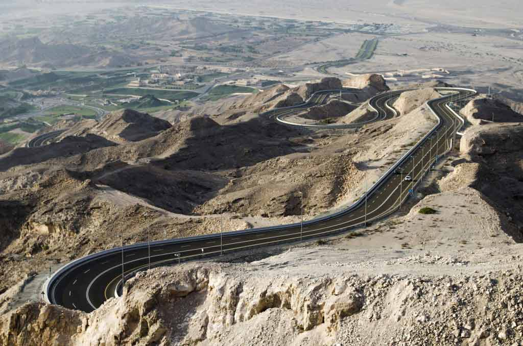 Jebel Hafeet Mountain Road uae
