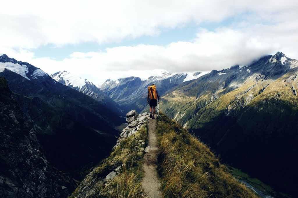 Cascade Saddle in New Zealand