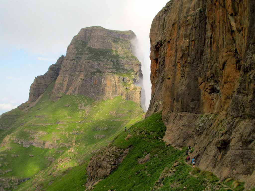 Drakensberg Traverse in South Africa