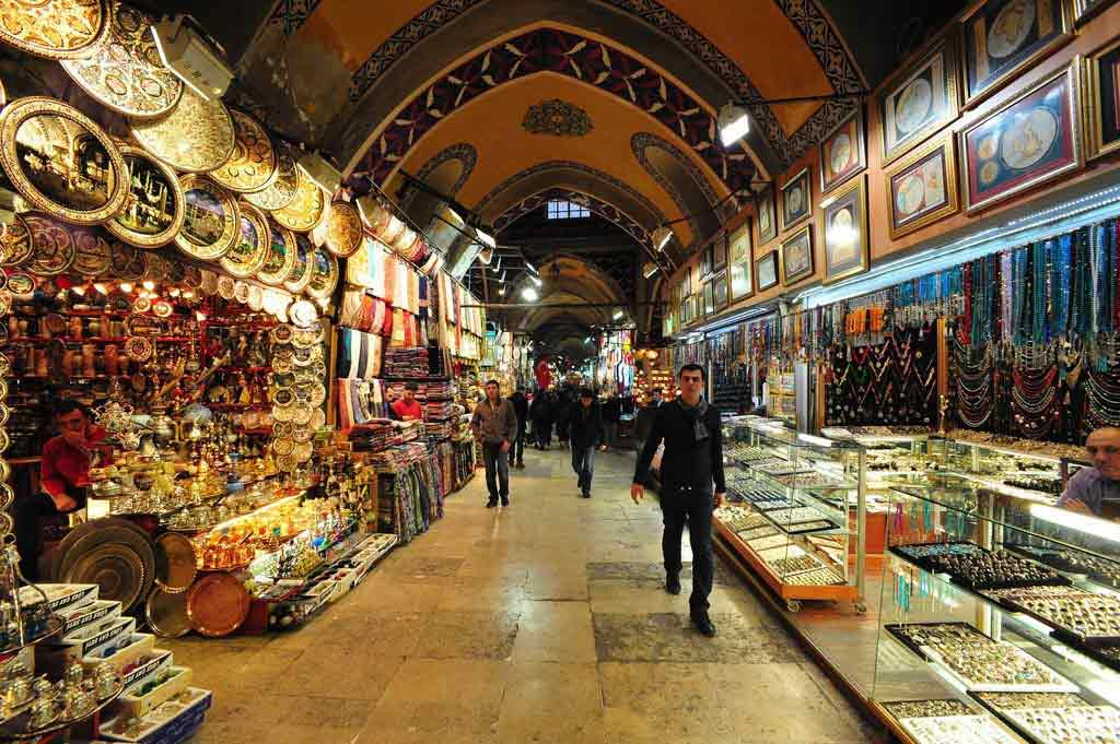 Grand bazaar in Instanbul