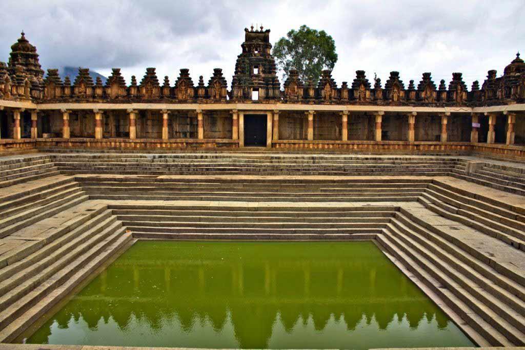Nandi temple in Nandi Hills