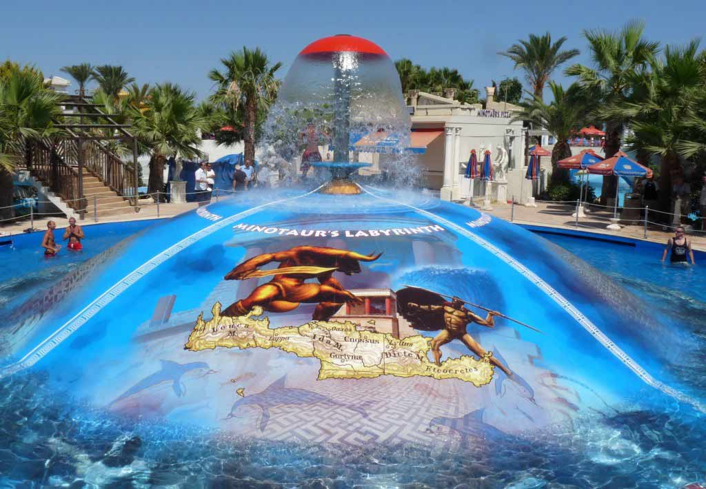 Waterworld waterpark ayia napa Cyprus