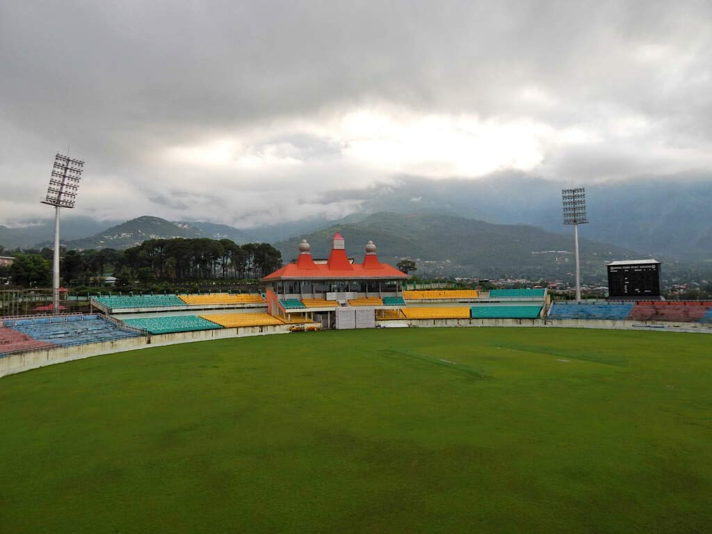 HPCL stadium in Dharamsala