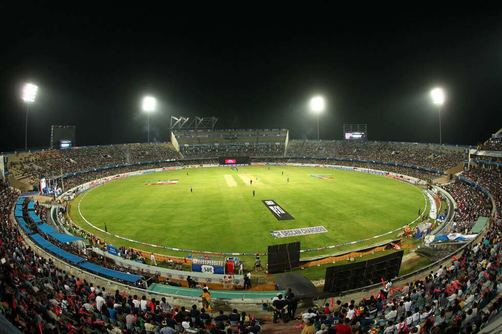 Rajiv Gandhi International Cricket Stadium Hyderabad