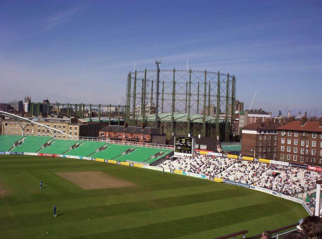 The Oval ground in London