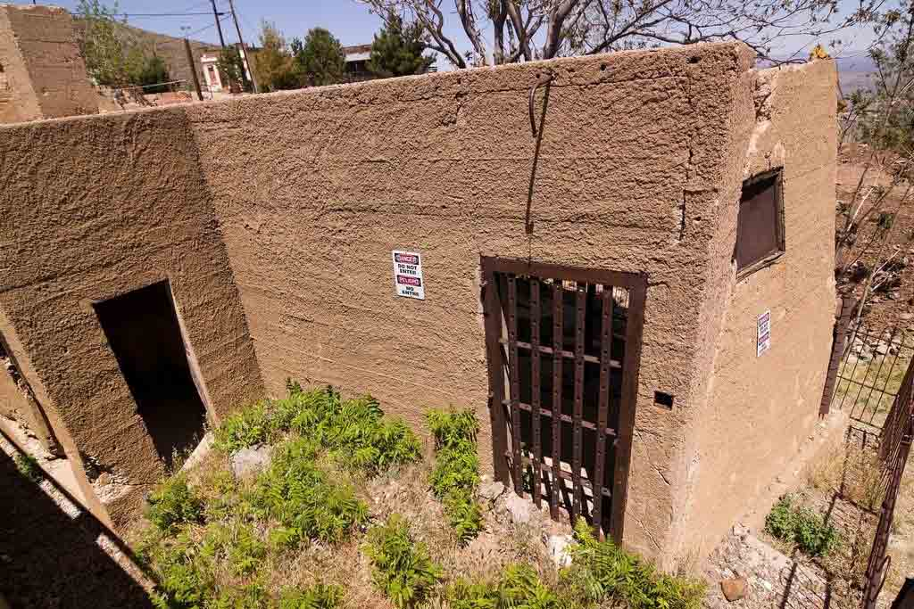 The Sliding Jail in Jerome