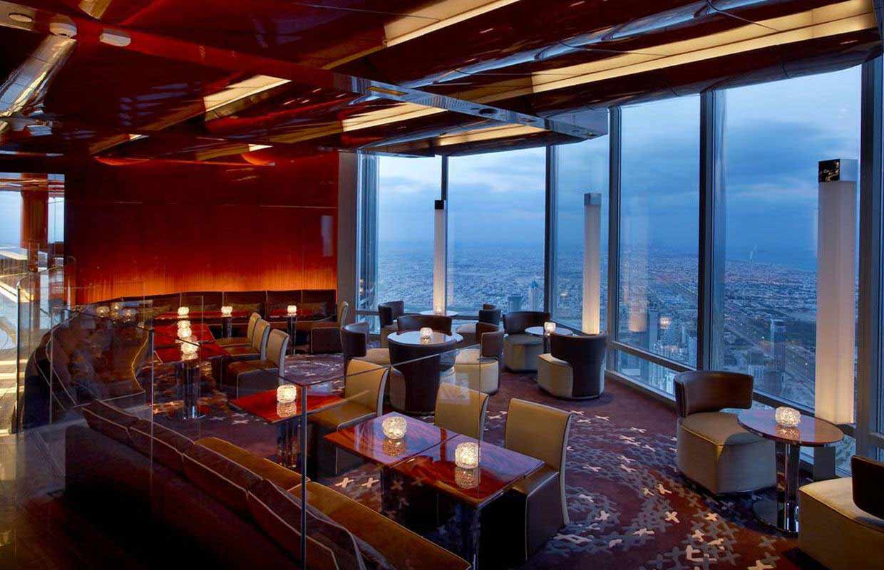 15 super romantic restaurants in dubai Armani hotel in burj khalifa