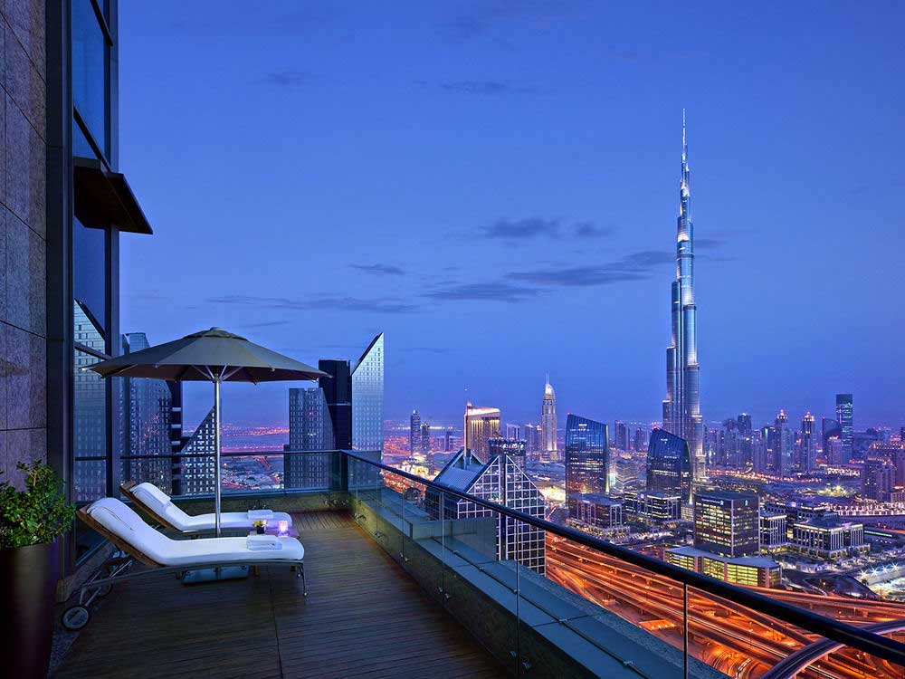 Private Terrace Floor 42 Dubai