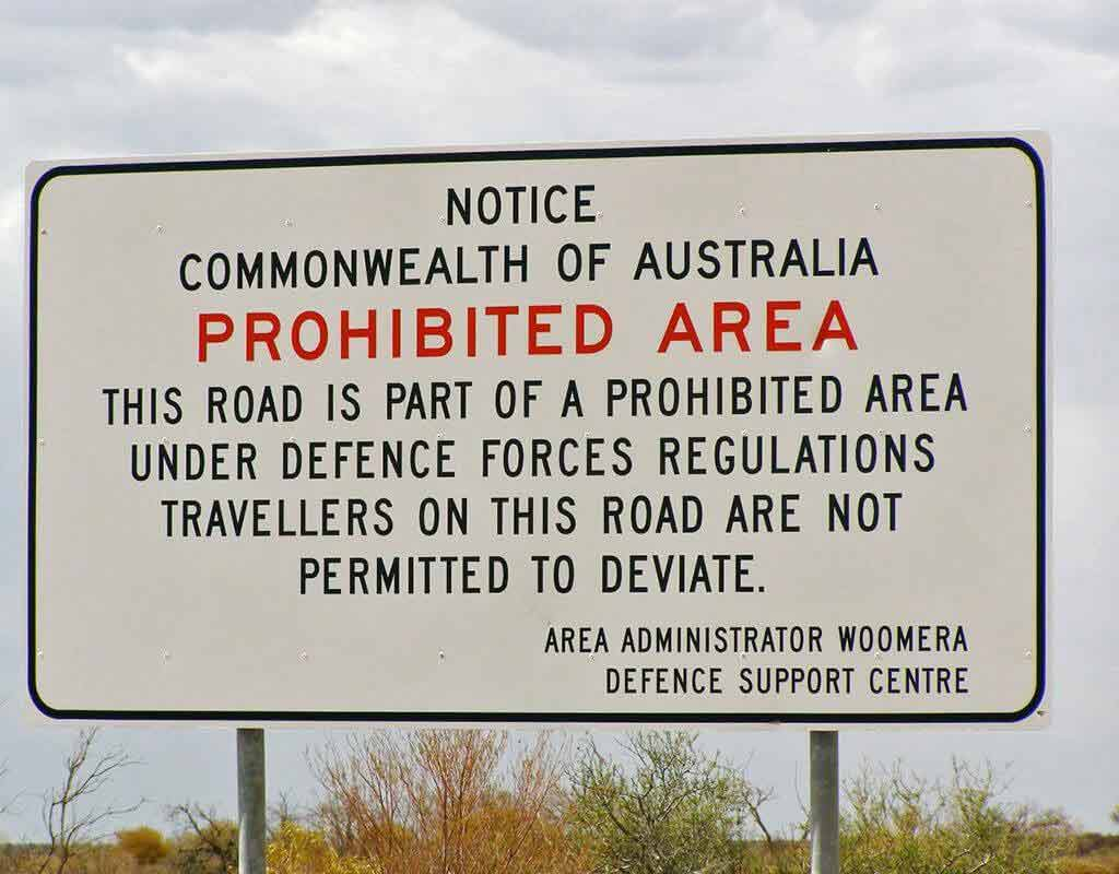 Woomera Prohibited Area
