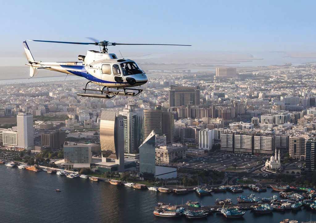 Helicopter Ride Dubai