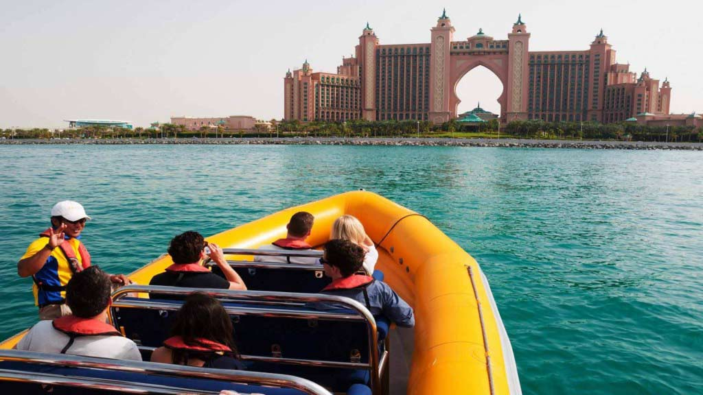 boat tour palm islands