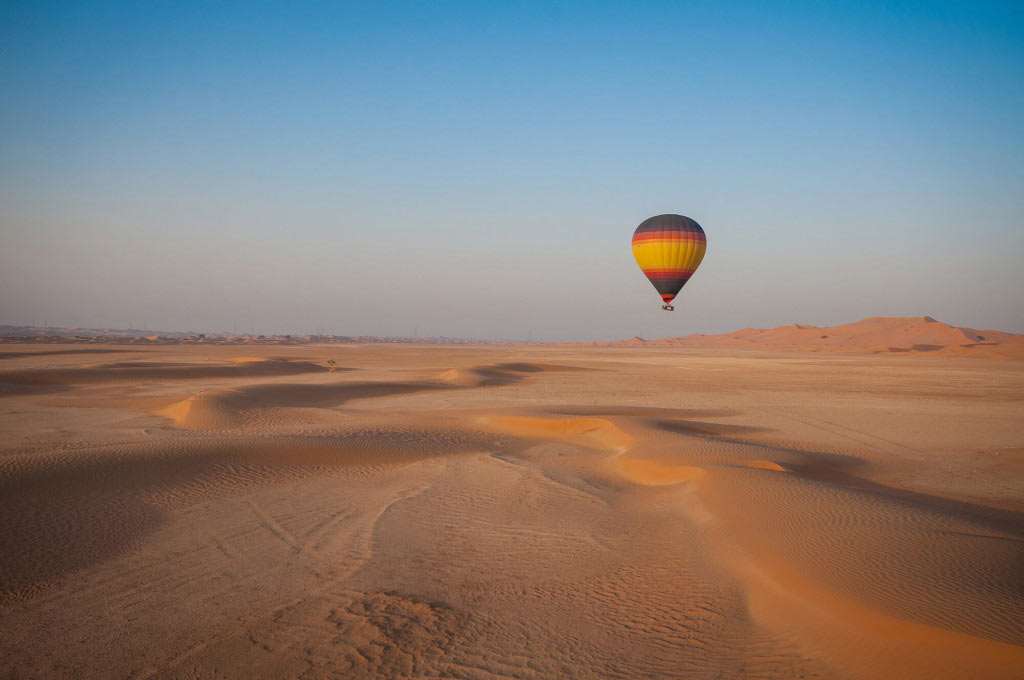hot air balloon dubai