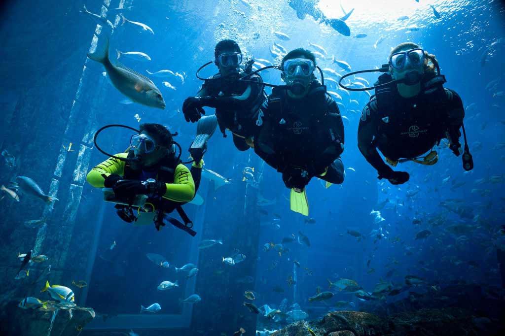 Dive Atlantis dubai