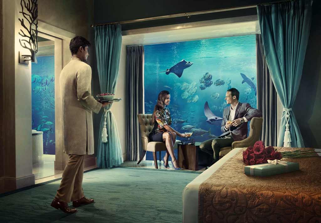 underwater signature suite Atlantis the Palm dubai