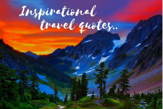 Best Inspirational travel quotes for you