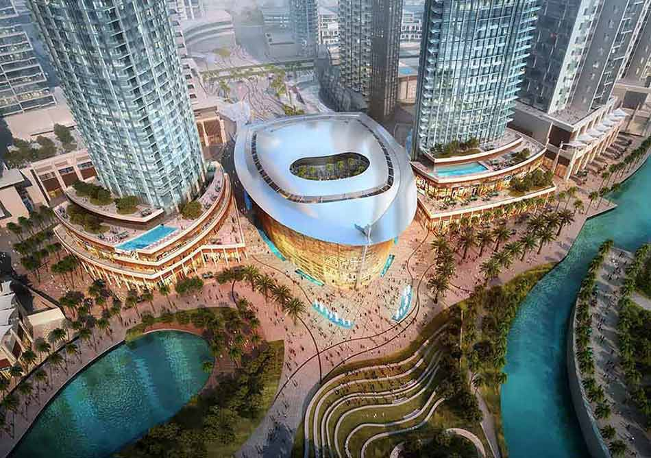 Design of Dubai Opera House