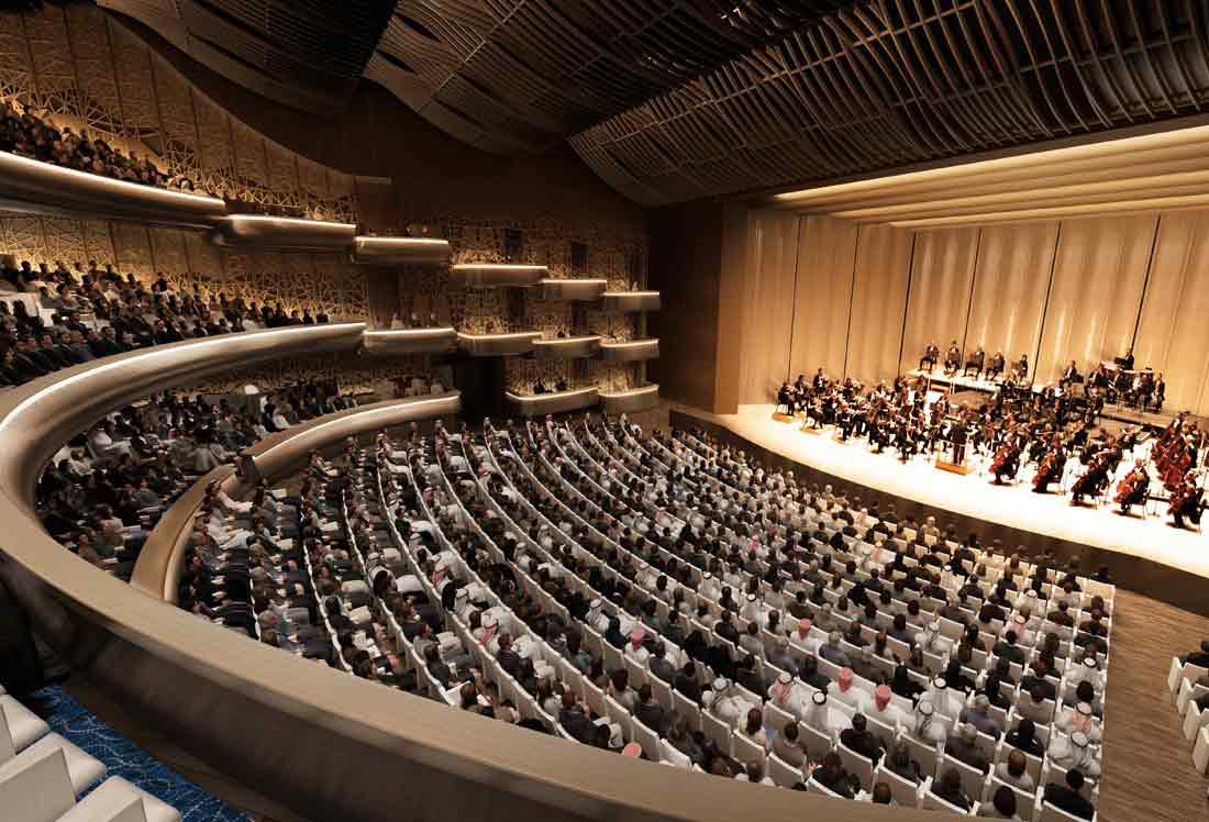 Dubai Opera House Interior