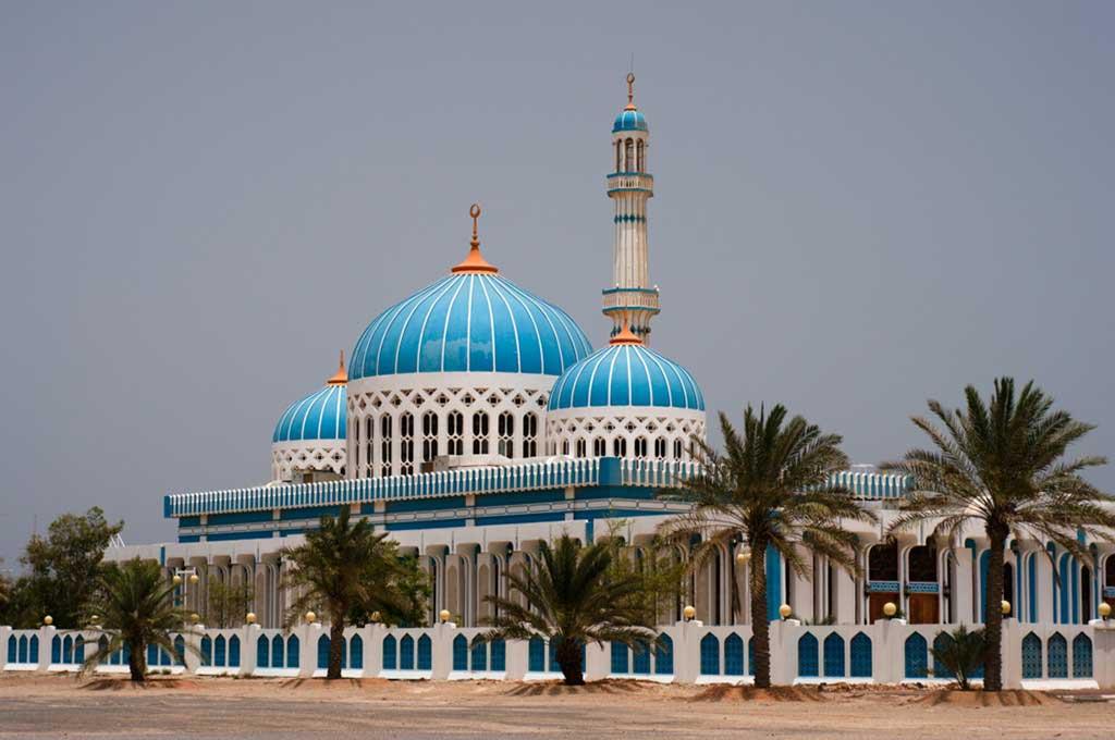 Mosque in Dalma Island