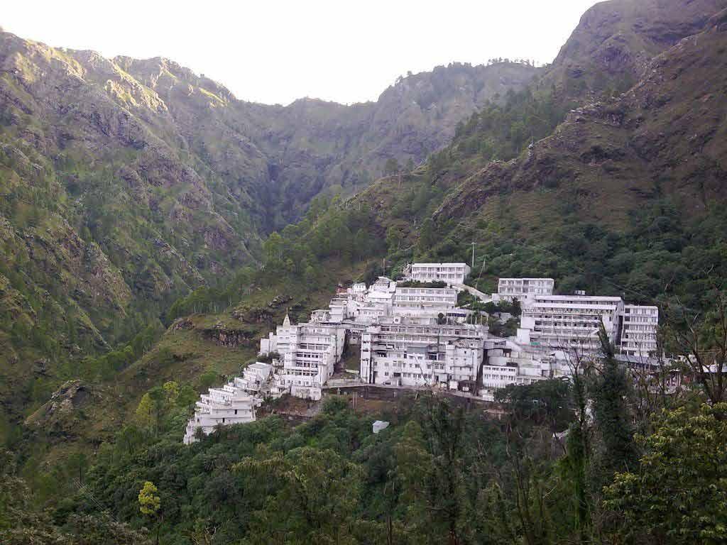 Vaishno Devi Mandir in Jammu and Kashmir