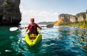 Sea Kayaking in Thailand
