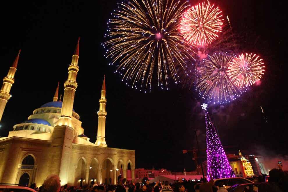 beirut lebanonne new year