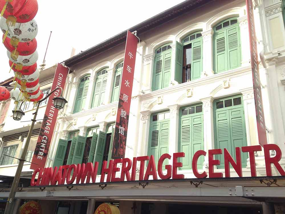 Chinatown Heritage Center Singapore
