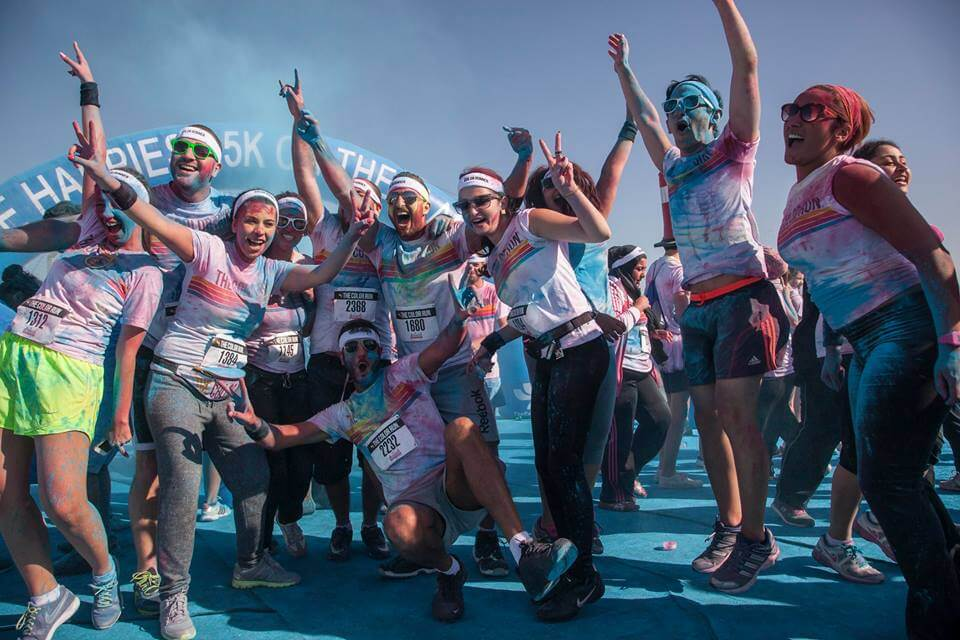 color run dubai 2016
