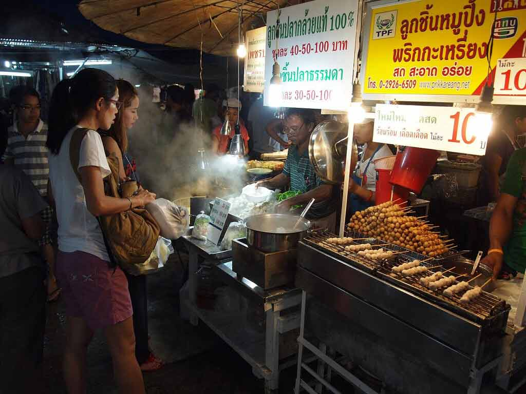 phuket town weekend night market