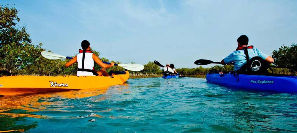 kayaking tour abu dhabi