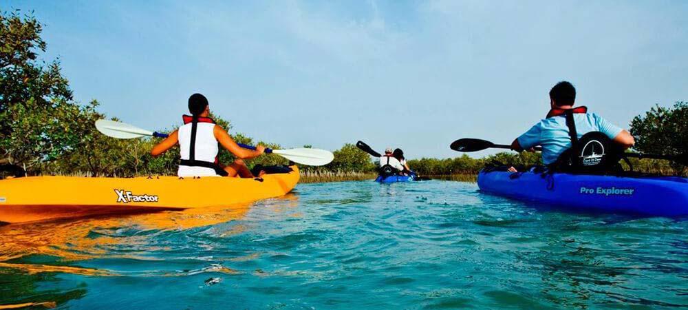 kayaking tour abu dhabi