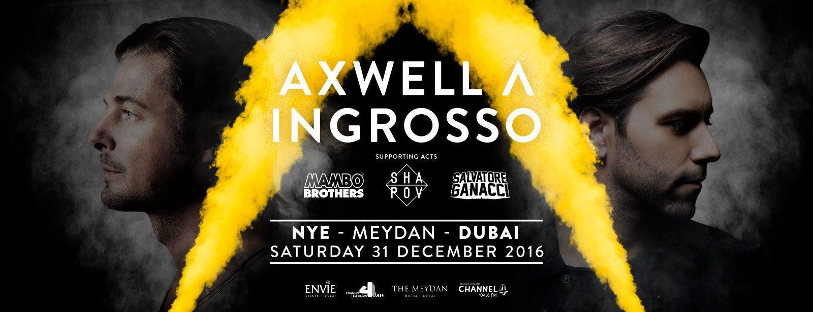 Axwell & Ingrosso concert at Meydan Dubai