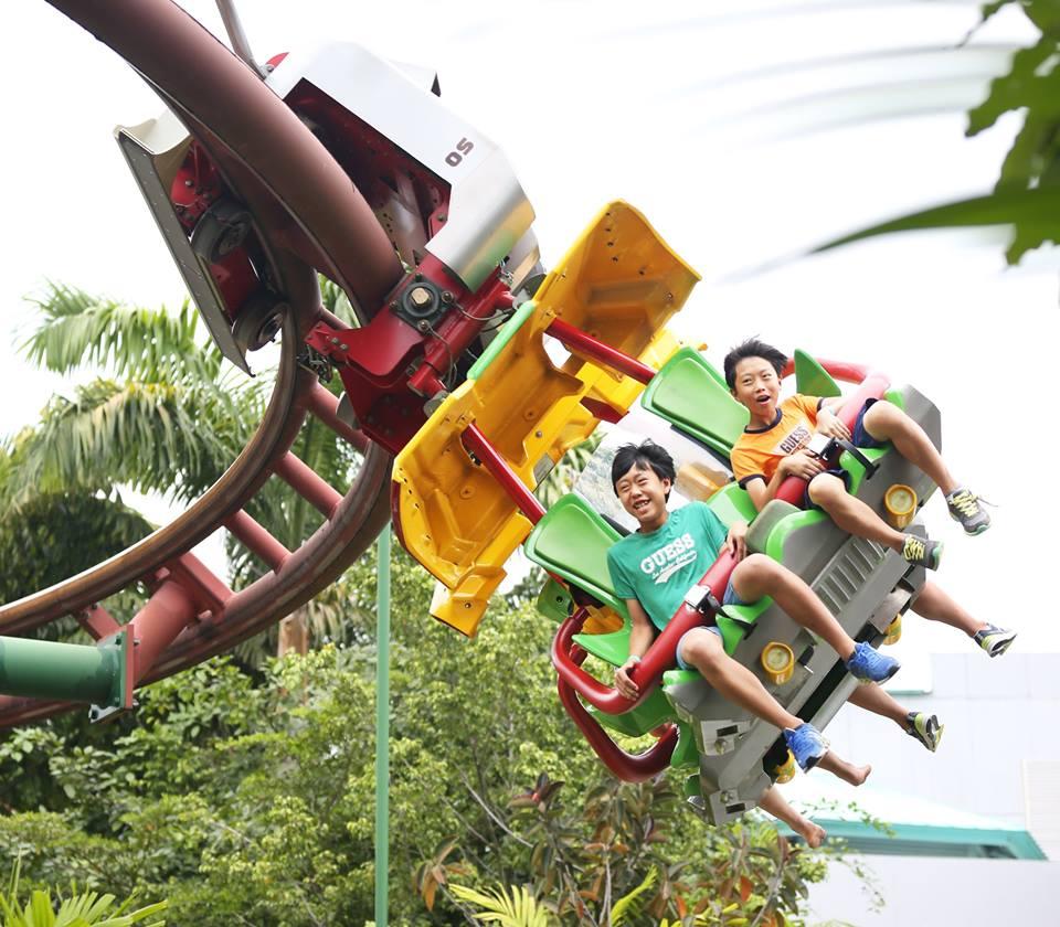 Canopy Flyer Universal Studios Singapore