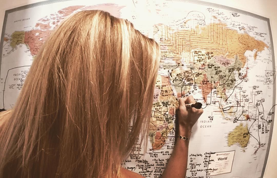 Cassandra De Pecol Travel Map