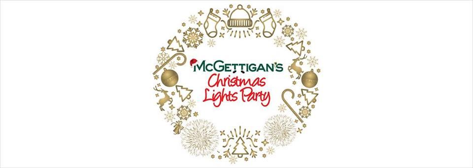 Christmas Lights Party at McGettigan's Irish Pub
