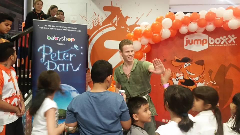 Ductac Peter Pan Pantomime Dubai