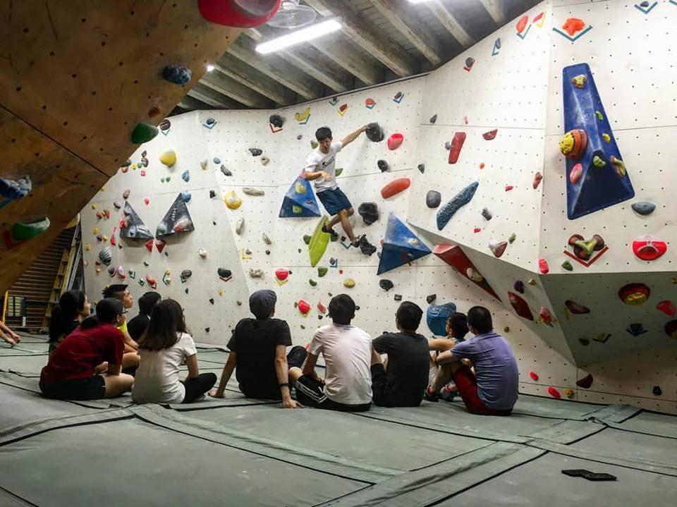 Kinetics Climbing Singapore