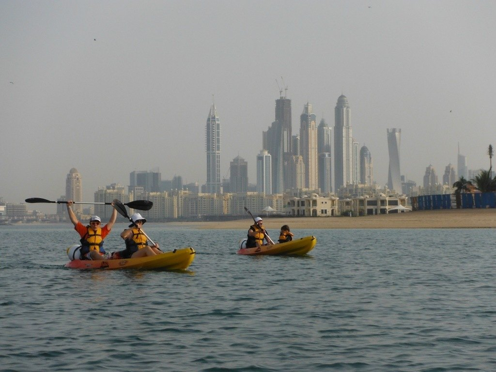 Sea Kayaking in Dubai