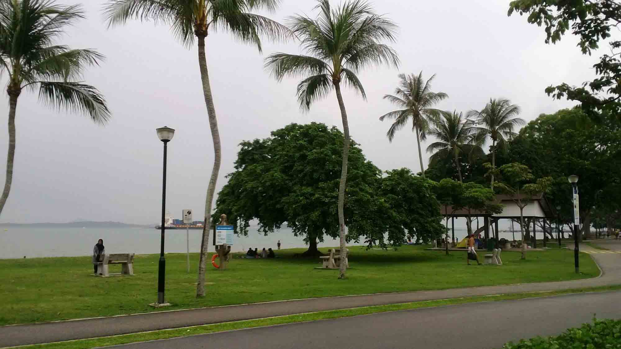 changi beach singapore
