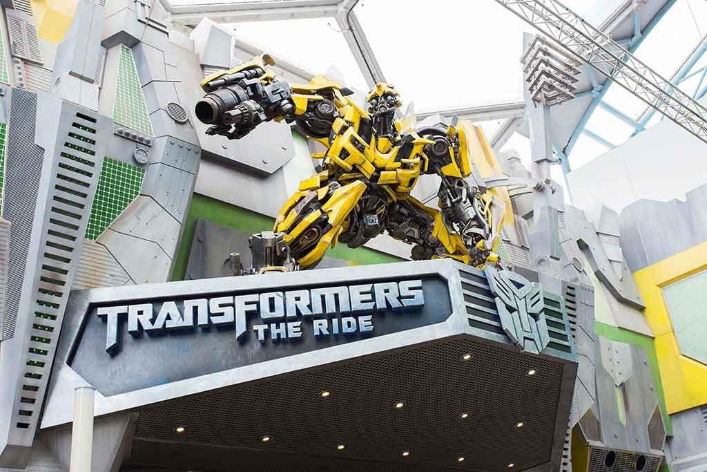 Transformers the Ride Singapore