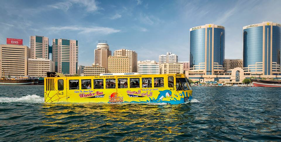 wonder bus dubai