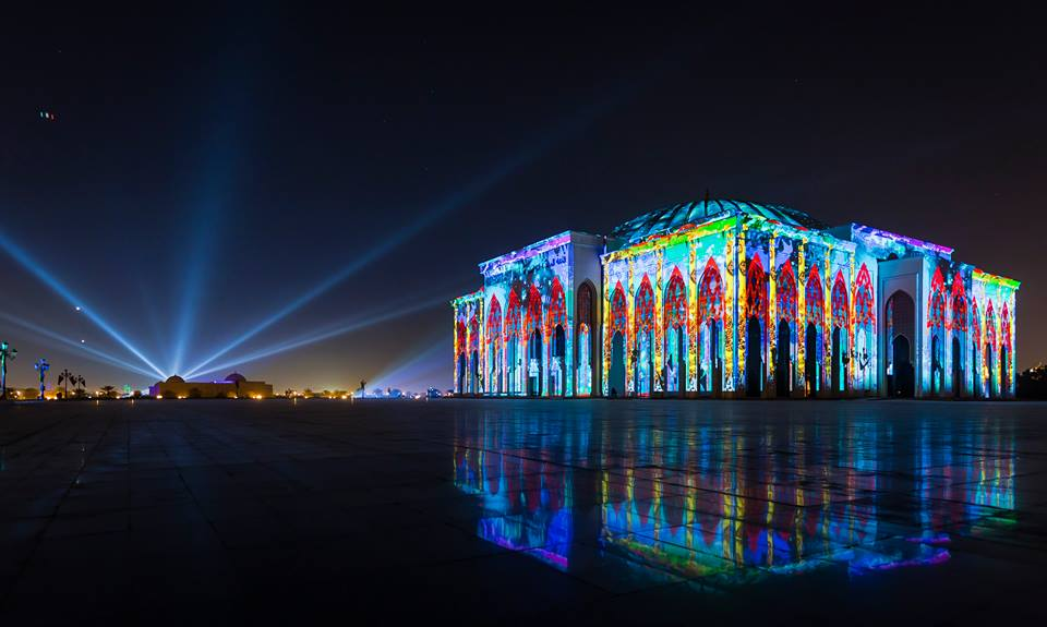 Sharjah Light Festival 2017