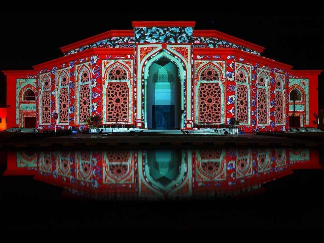 khorfakkan sharjah light festival
